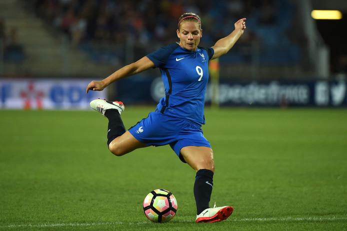 Eugenie Le Sommer lijkt hard op weg om topscorer aller tijden te worden voor de Franse nationale ploeg.