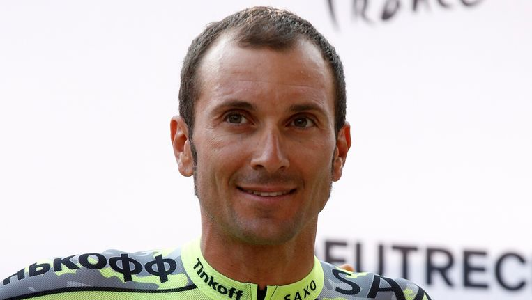Basso heeft weer reden om te lachen, de Italiaan moet geen verdere behandelingen ondergaan Beeld REUTERS
