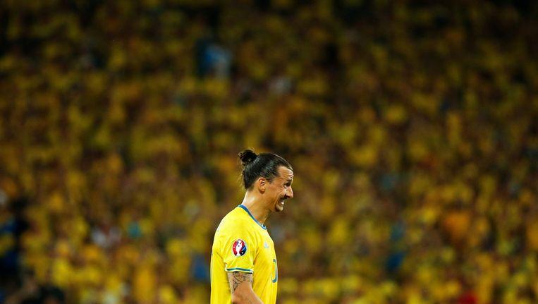 Zlatan Ibrahimovic. Beeld Photo News