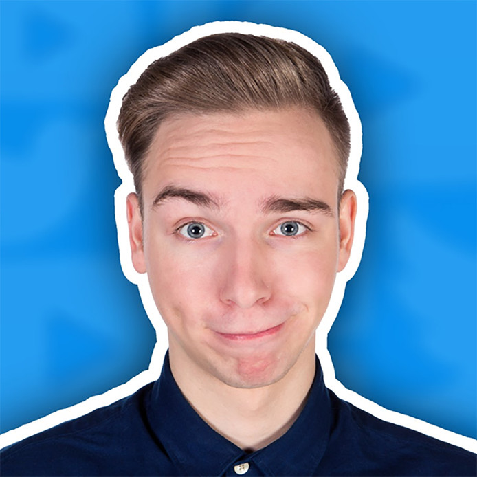 YouTuber Dylan Haegens