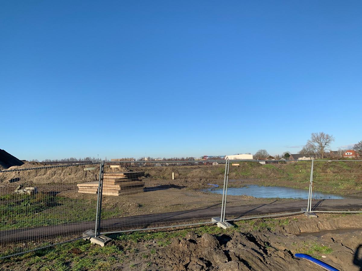 Na afloop van het werk wordt de bouwplaats doorgaans met hekken afgesloten.