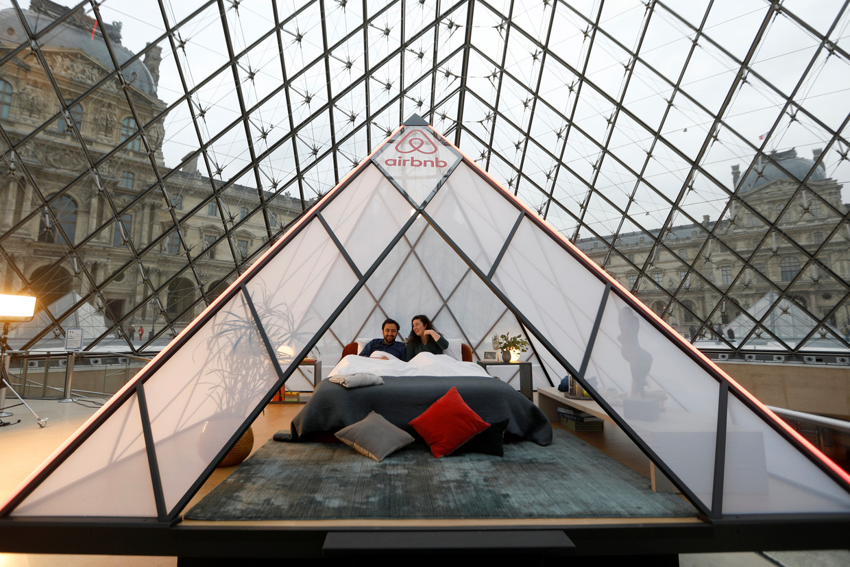 Er staan nu 7,4 miljoen 'logeeradressen' geregistreerd bij Airbnb. Beeld REUTERS