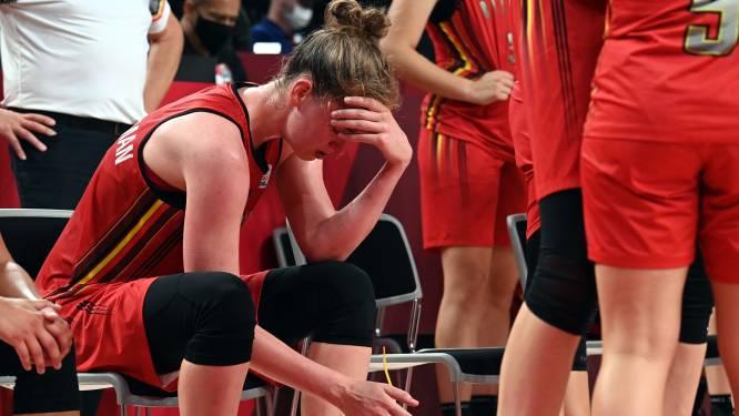 Drama voor Belgian Cats: Belgische basketdames verliezen met één luttel puntje van Japan en grijpen naast halve finales