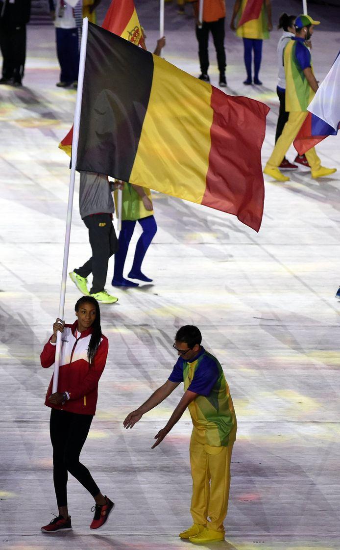 Nafi Thiam droeg de vlag al op de sluitingsceremonie van Rio.