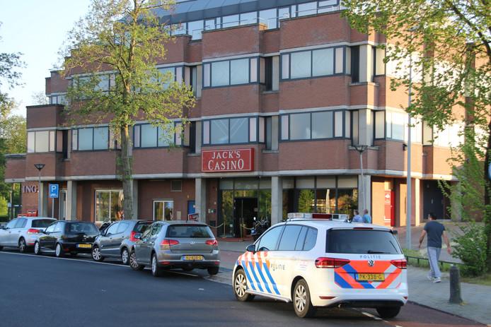 Jack's Casino in Arnhem-Zuid werd eerder dit jaar ook overvallen.