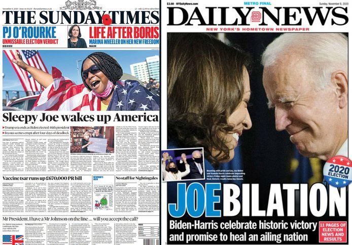 Internationale pers over verkiezingsuitslag VS.