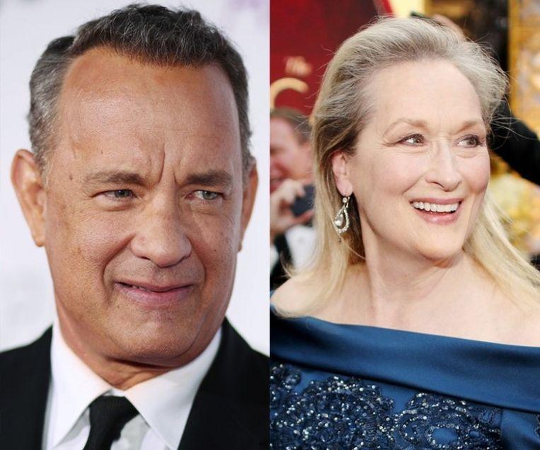 Tom Hanks en Meryl Streep