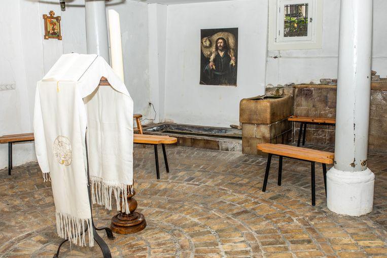 Kapel van de Communitaire Gemeenschap Oudezijds 100. Beeld Nosh Neneh