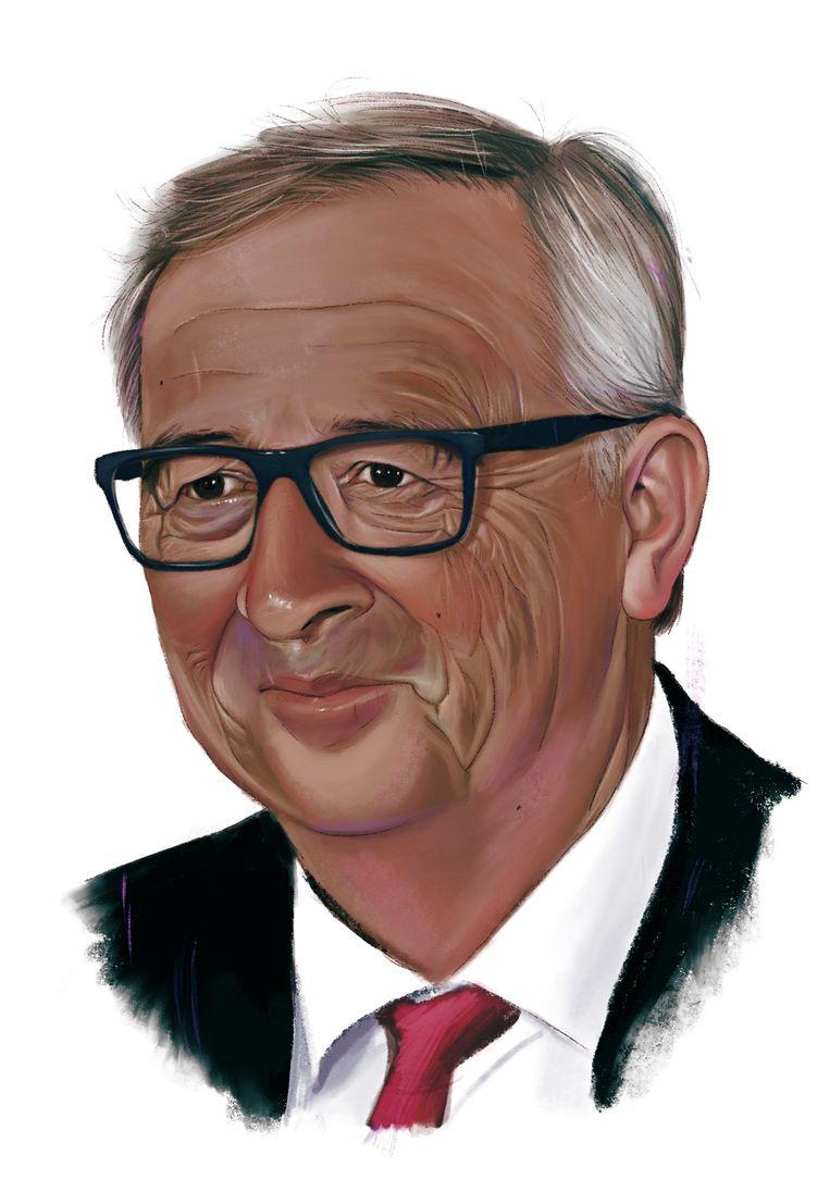 Jean-Claude Juncker. Beeld Studio Caro