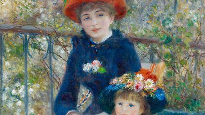 Trump beweert originele Renoir te bezitten, museum in Chicago ontkent