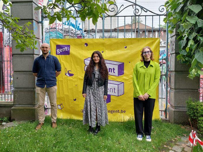 Student van het jaar - de drie laureaten Nicolas Vander Eecken, Nikola Balogova en Emma Moerman.