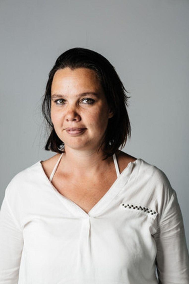An Goovaerts is hoofdredacteur van De Morgen.  Beeld Wouter Van Vooren