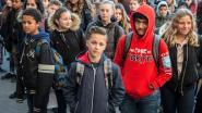 Heilig Graf houdt minuut stilte voor slachtoffers aanslagen