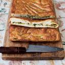 Gevulde focaccia van Jamie Oliver uit Jamie kookt Italië.