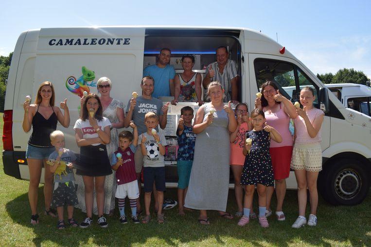 Camaleonte verkoopt de beste ijsjes van het Meetjesland.