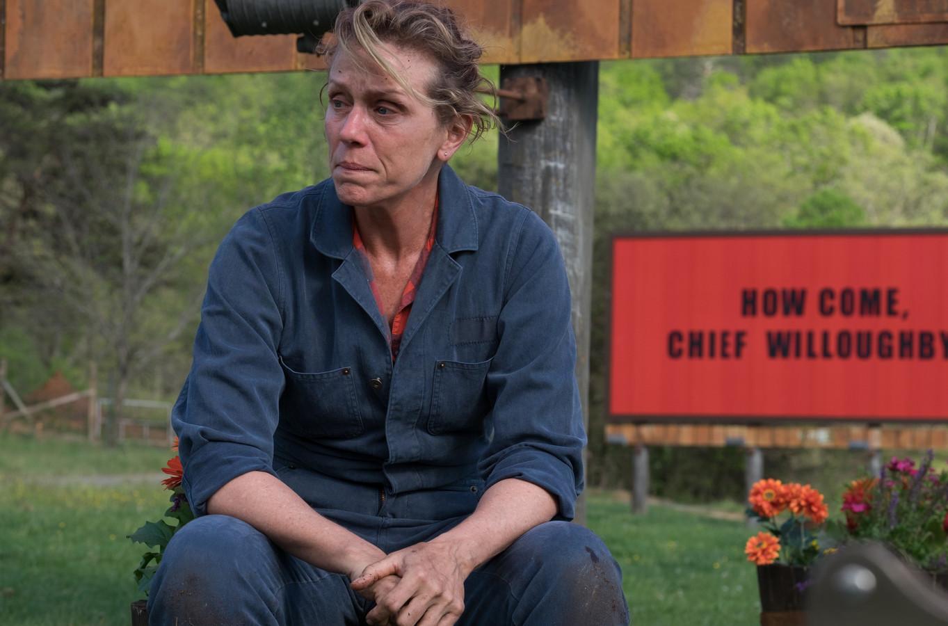 Three Billboards Outside Ebbing, Missouri met  Frances McDormand is vanavond om 20.30 uur te zien op Net5.