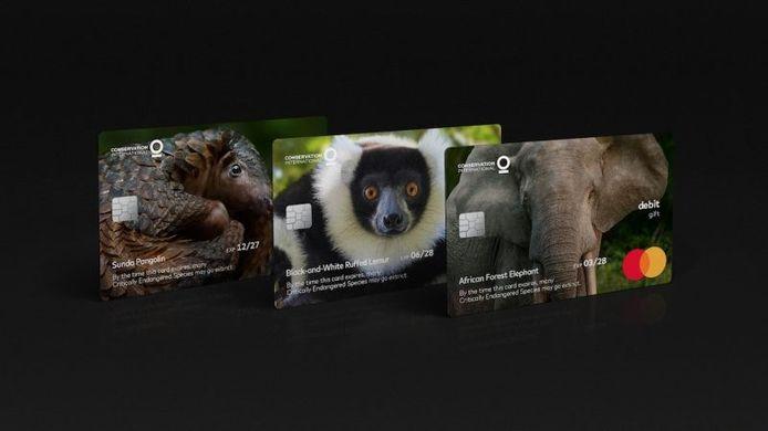 Mastercard sensibilise sa clientèle à l'extinction des espèces.