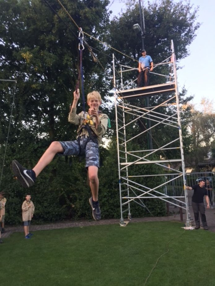 Scouting Thomas-More in Prinsenbeek.