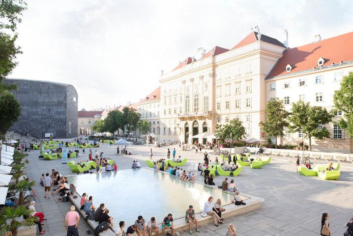 Le quartier des Musées.