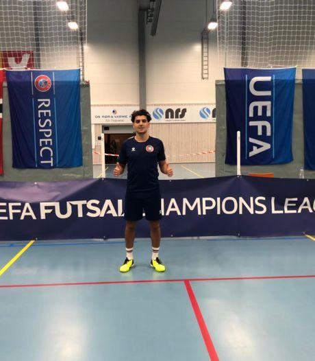 Oranje met vier zaalvoetballers FC Eindhoven tegen wereldkampioen