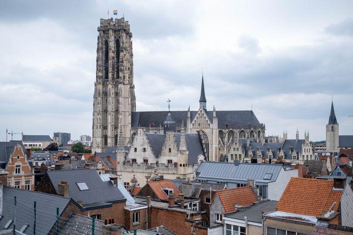 De Sint-Romboutskathedraal.