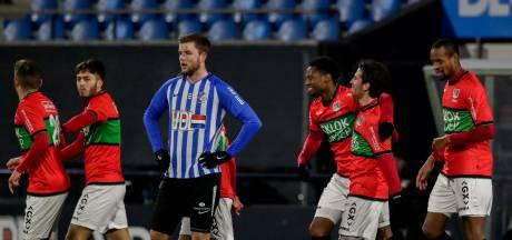 NEC met de hakken over de sloot langs FC Eindhoven