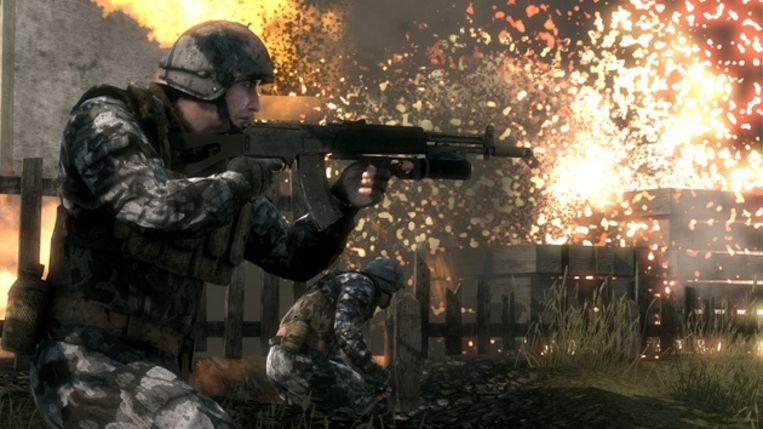 Battlefield: Bad Company: solide en volwassen. Beeld UNKNOWN