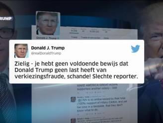 Trump scheldt journalist CNN uit op Twitter