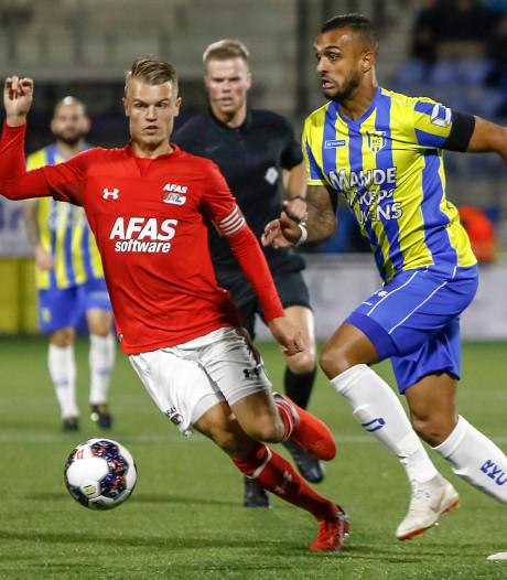 RKC en Jong AZ delen de punten in knotsgekke wedstrijd