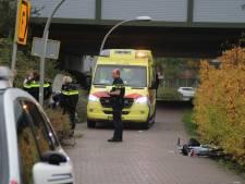 Fietser gewond bij aanrijding met scooter Lelystad