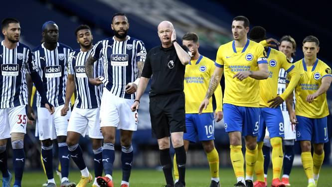 Trossard en Brighton verliezen bij voorlaatste na twee gemiste penalty's en afgekeurd doelpunt na bizarre VAR-fase