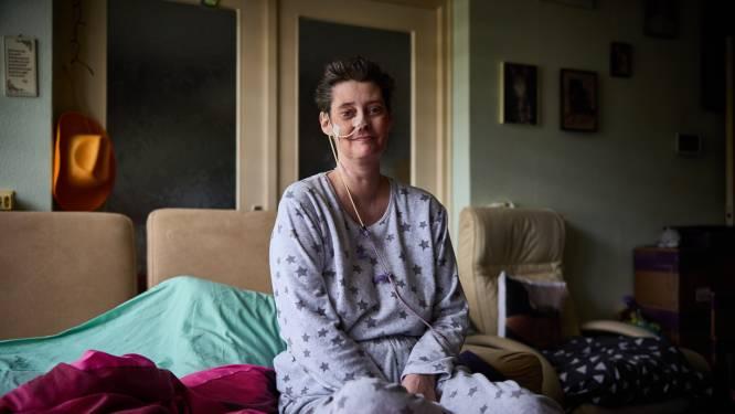 Marleen droomde van sprookjeshuwelijk, maar zal binnenkort sterven: 'Mijn laatste wens? Een trouwjurk dragen'