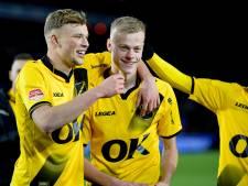 Van Hecke na basisdebuut voor NAC: 'Mooi dat ik een assist kon geven op mijn maatje Sydney'