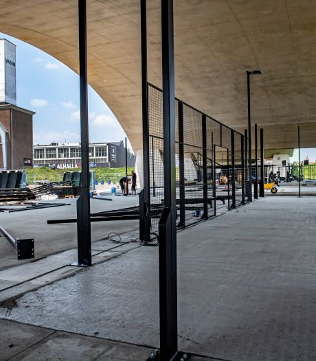 Nijmeegse stadsbrug moet sportbrug worden: maar moeten de nieuwe gyms straks alweer weg?