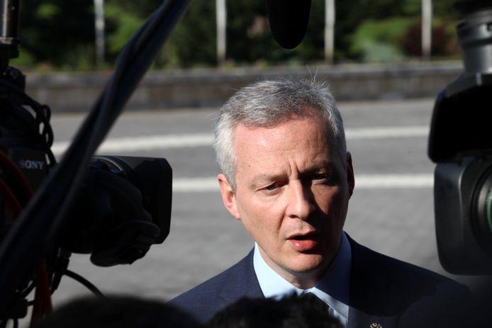 De Franse minister van Financiën, Bruno Le Maire
