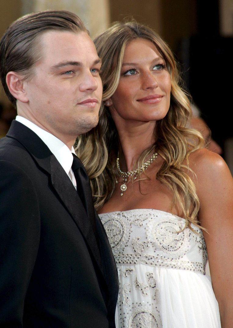 Leonardo DiCaprio en Giselle Bundchen