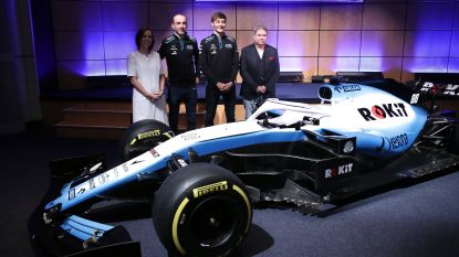 """Williams ontbreekt op eerste testdag in Barcelona: """"Niet klaar om te rijden"""""""