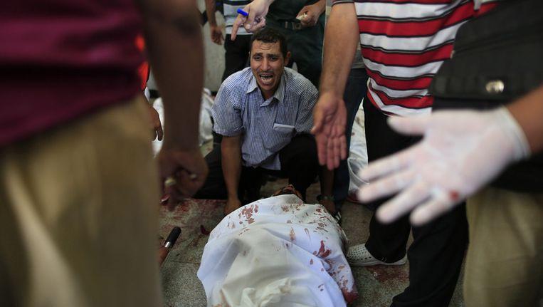 Bij het geweld van de afgelopen dagen vielen tientallen doden. Onder andere de VS en de VN uitten hun bezorgdheid. Beeld AP