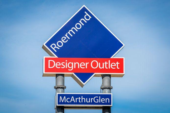 Het logo van het Designer Outlet Centre.