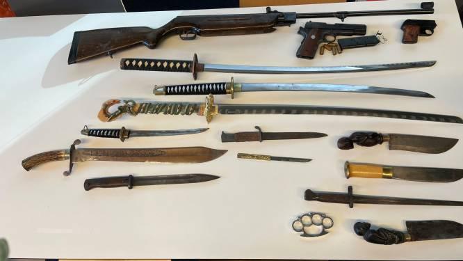 Van gevechtknots tot messen uit de keukenla: 67 wapens ingeleverd