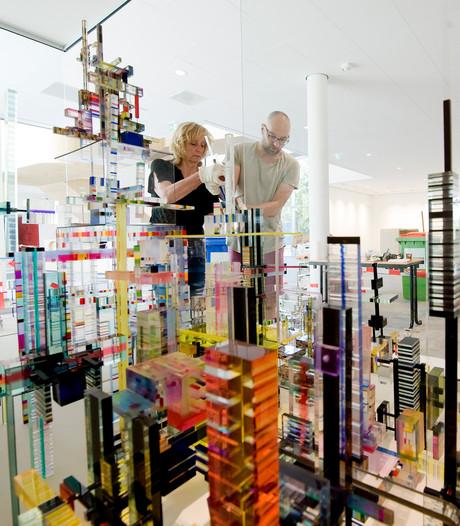 Kunstwerk De Bouwplaats geïnstalleerd in Zinder