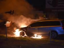 Nachtelijke autobrand in Nijmegen