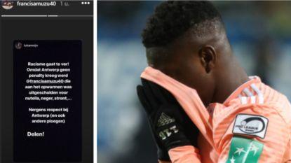 """Antwerp-fans kunnen VAR-beslissing niet verkroppen: """"Amuzu werd uitgescholden voor nutella en neger"""""""