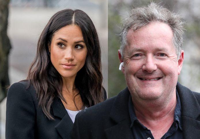 Meghan Markle en Piers Morgan