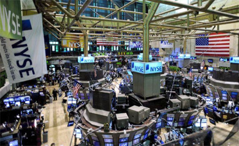 New York Stock Exchange Foto EPA Beeld