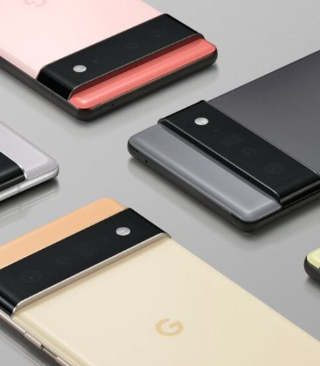 Le Pixel 6, la nouvelle gamme de smartphones de Google