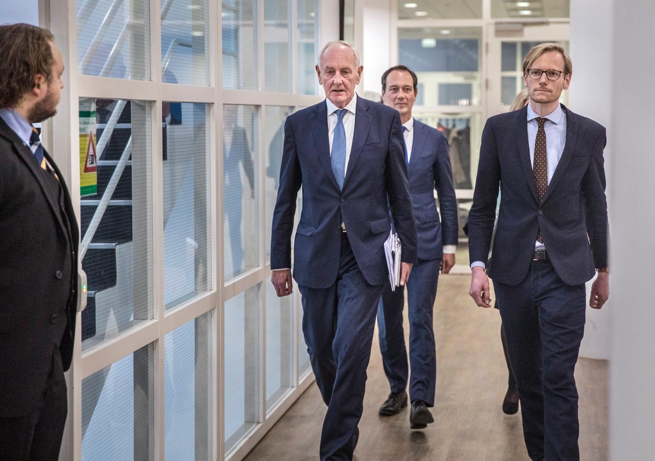 Waarnemend burgemeester van Den Haag Johan Remkes komt kennis maken.(Den Haag 11-10-19) Foto:Frank Jansen