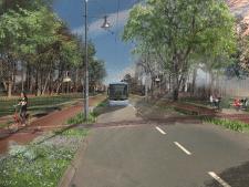 Renaissance van de Velperweg: Stiekem gevaarlijke brede asfaltbaan gaat er compleet anders uitzien