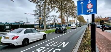 Internetpetitie om Merwedestraat weer tweebaansweg te maken bijna 600 keer getekend