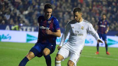 LIVE. Real met Hazard dwingt weinig kansen af, Courtois bleef nog werkloos